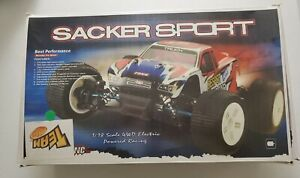 New Green 1/18 4WD Electric Rc Sacker Sport Truggy