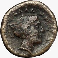 Phalanna in Thessaly 350BC Ancient Greek Coin Young male Nymph Phalanna  i43340