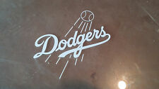 LOS ANGELES DODGERS 5X5 white car Decal Sticker