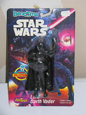 1993 Justoys Star Wars Bend 'Em Darth Vader, Limited Edition, Moc