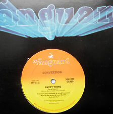 """CONVERTION Sweet thing Leroy Burgess DISCO boogie VANGUARD 12"""" STRONG VG++ #103"""
