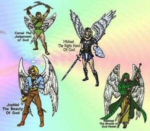 Angels Of God Machine Embroidery Designs
