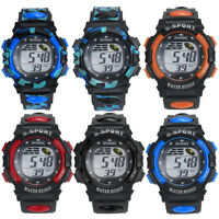 UN3F Multifunction Sports Electronic Wrist Watch for Child Boy Girl Waterproof