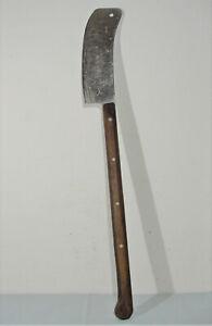 Großes altes Fleischerbeil, F. Dick No. 1042, 87cm, Hackbeil, Metzgerbeil