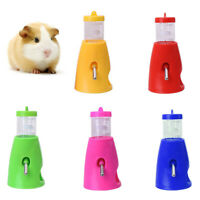 80ML PET HAMSTER MICE WATER BOTTLE HOLDER DISPENSER BASE HUT NEST FEEDER HIDEOUT