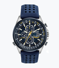 Citizen Eco-Drive Men's Blue Angels Radio Controlled Leather AT8020-03L LIMITED
