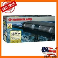 MARINELAND PENGUIN 350B BIO-WHEEL AQUARIUM POWER FILTER 75-GAL