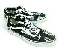 Mens Old Skool Vans Off The Wall Trainers Black & White UK Size 9