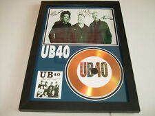 UB40   SIGNED GOLD CD  DISC  43