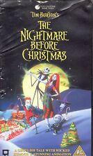 Pesadilla antes de Navidad. Tim Burton. The Nightmare Before Christmas. Inglés.