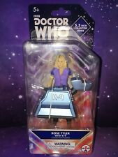 DOCTOR WHO 2 FIGURE SET COMPANIONS NEW EARTH ROSE TYLER & K9 mk4 10th DR ERA
