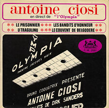 45TRS VINYL 7'' / FRENCH EP ANTOINE CIOSI A L'OLYMPIA / CHANTEUR CORSE