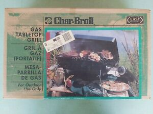 Char-Broil Gas Tabletop Grill 4651230 NOS