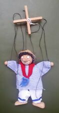 Vintage 1980s String Puppet/ Marionette. Male CIRCUS CLOWN. 100% Condition