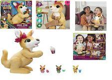 FurReal Mama Josie The Kangaroo With 3 Surprise Babies 70 Sounds & Reactions