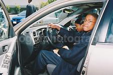 Car Portrait FOUND PHOTO Color FREE SHIPPING Original GIRL BOY MAN WOMAN 736-1