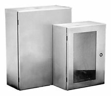 NEW HOFFMAN CSD12126SS Metallic Enclosure,12in.Hx12in.W,Wall