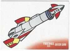 Fireball XL5 Gerry Anderson Sketch Card drawn by Jamie Richards