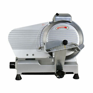 """Commercial Electric Meat Slicer 10"""" Blade 240w 530 rpm Deli Food cutter*"""