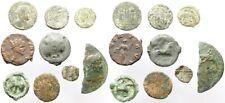 Lot de 9 monnaies antiques à déterminer