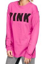 Victoria's Secret PINK  Campus  Long Sleeve Tunic  Tee Shirt Medium M