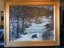 SAMUEL G. PHILLIPS 1890-1965 Pennsylvania Bucks County American Impressionist