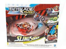 BeyBlade Burst Turbo Sling Shock: Rail Rush Battle Set (Toy338)