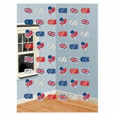 Union Jack Royal Wedding Celebration GB Party Decorations Prince Harry Meghan