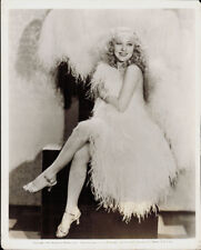 "Original 8x10 Photo - Fan Dancer SALLY RAND - ""Bolero"" 1934"