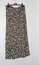 Size 14 Alexon Summer Skirt Brown & Cream New without tags. Fully Lined