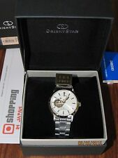 Orient Star WZ0051DA Open Heart Automatic Semi Skeleton (NEW 100%)