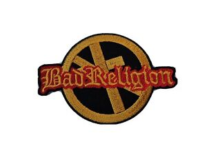 Bad Religion Sew / Iron On Music Festival Embroidered Badge