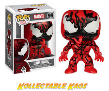 Spider-Man - Carnage Pop! Vinyl Figure with Pop Proctector