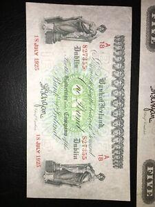Bank Of Ireland £1 1925 Very Rare Very Good Condition!!! GEF??