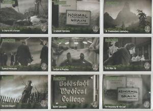 Artbox Frankenstein 72 Card Set Plus a Wrapper 2006