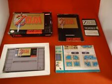 The Legend of Zelda: A Link to the Past Super Nintendo SNES COMPLETE w/ Box #T1