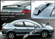 SPOILER REAR BOOT TRUNK PEUGEOT 407 WING ACCESSORIES