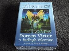 ANGEL TAROT CARDS Doreen Virtue & Radleigh Valentine 78 Card Deck &  Guidebook