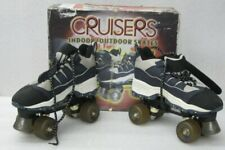 Nash Cruisers Indoor Outdoor 4-Wheel Quad Sneaker Roller Skates Mens 8 Womens 9