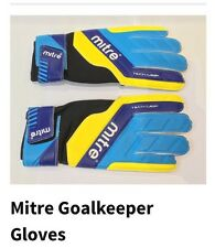 New!  Mitre GoalKeeping Gloves Size Small (junior) Size 6