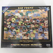 Bay Front Collage 550 Piece Jigsaw Puzzle White Mountain Puzzle Mozayic Sealed