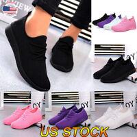 Women Ventilate Shoes Ladies Casual Athletic Walking Running Sport New Sneakers