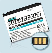 PolarCell Akku für Samsung F480 SGH-F480i SGH-F480v AB553446CE AB553446CU Accu