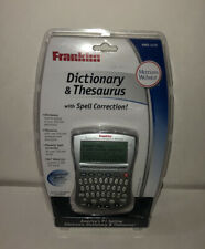 Franklin Mwd-1470 Merriam-Webster Dictionary & Thesaurus Spell Correction New