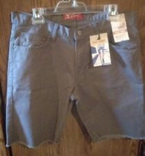 The Original Arizona Jeans Co. Dark Gray Denim Shorts. W34 Slim Short.
