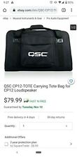 Qsc Cp12-Tote Carrying Tote Bag for Cp12 Loudspeaker