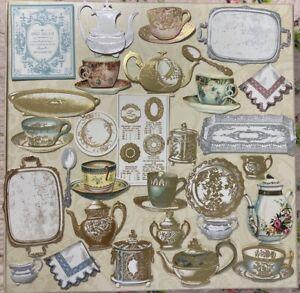 ANNA GRIFFIN Favorite Tea Embellishments set of 30