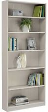Maine Tall Wide Bookcase - Putty