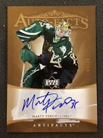 2005-06 UD ARTIFACTS MARTY TURCO AUTO AUTOGRAPH #ED 44/75