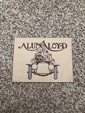 Aluma Lyod A Special Analysis Sheet